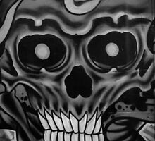 Skullface ll by GraffitiGallery