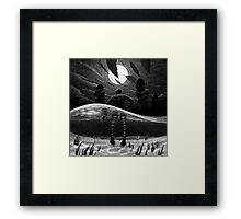 Drawlloween 2014: Creature from the Black Lagoon Framed Print