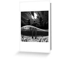 Drawlloween 2014: Creature from the Black Lagoon Greeting Card