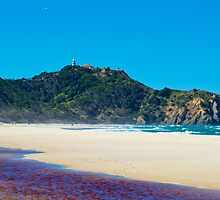 Hang Gliders Over Cape Byron by bidkev1