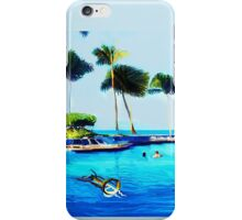 Corky's diving iPhone Case/Skin