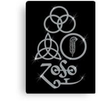 NEW DESIGN - Ancient Pagan Symbols (L) - Shine on You Crazy Diamond Canvas Print