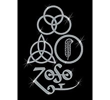 NEW DESIGN - Ancient Pagan Symbols (L) - Shine on You Crazy Diamond Photographic Print