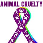 Against Animal Cruelty T-Shirt by mralan