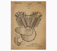 Harley Engine patent  Kids Clothes