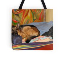 DOGS LIVING TOGETHER Tote Bag