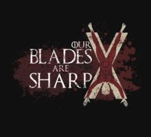 Our Blades Are Sharp - House Bolton T-Shirt