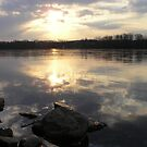 Susquehanna Sunset by James Wheeler