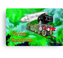 Flying Scotsman with Blinkers - all products bar duvet Canvas Print