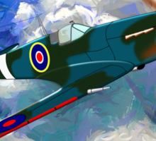 Supermarine Spitfire WWII - all products Sticker