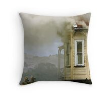 Facing Danger Throw Pillow