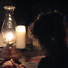 Hannah and Earth Hour by gypsykatz
