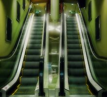 The Escalator by Peter Kurdulija