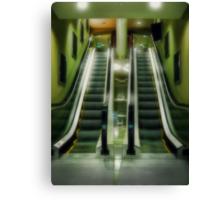 The Escalator Canvas Print