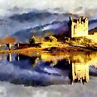Eilean Donan Castle, Scotland - all products bar duvet by Dennis Melling