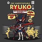 The Undefeatable Ryuko by LooneyCartoony