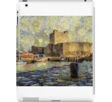 Starry Starry Carrickfergus Castle iPad Case/Skin