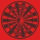 Mandala 36 Yin-Yang Chocol'Art by sekodesigns