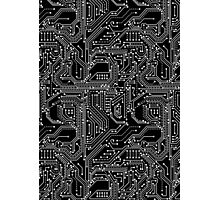 Computer Circuit Board Photographic Print