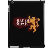 Hear Me Roar - House Lannister iPad Case/Skin