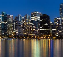 Vancouver Downtown Skyline by Dmitry Shuster