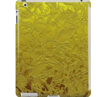 Metal Grunge Relief Floral Abstract iPad Case/Skin
