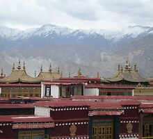 Temple Rooftop by Michelle Thomson