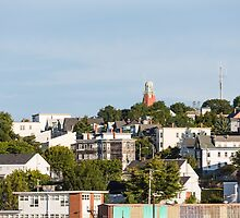 View of Portland, Maine from the Sea by dbvirago