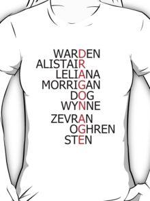 Dragon Age Companions T-Shirt
