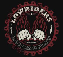 Lowriders - Low and Slow T-Shirt and Hoody by GTOclothing
