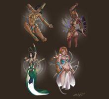 Smite Goddesses  1 by Rhibear