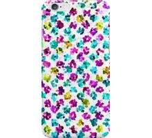 Abstract Floral Spots iPhone Case/Skin
