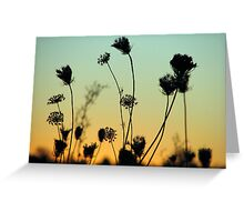 Night Must Fall Greeting Card