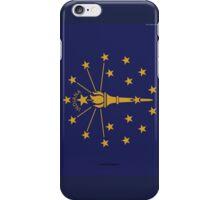 Indiana State Flag  iPhone Case/Skin