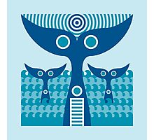 whale tails Photographic Print