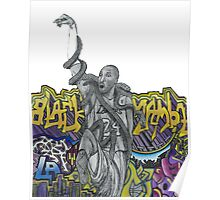 Kobe Bryant - The Black Mamba Poster