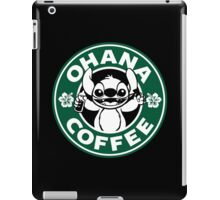 Ohana Coffee iPad Case/Skin