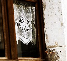 Lace Curtain by Alison Cornford-Matheson