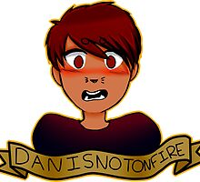 Danisnotonfire Sticker/Shirts + Others by kishii0