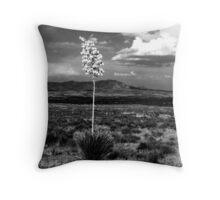 Lone Cactus Throw Pillow