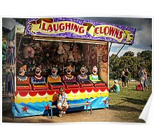 Laughing Clowns Poster
