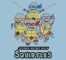 Teenage Mutant Ninja Squirtles by Falkunn