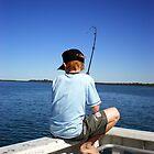 boy fishing by lolly83