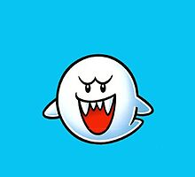 Super Mario Boo by AMPEE