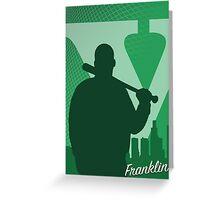Franklin Greeting Card