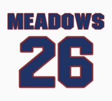 National baseball player Louie Meadows jersey 26 by imsport