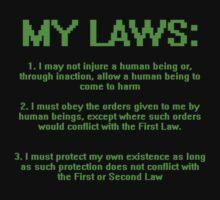 My Three Laws by WarpDustDesign