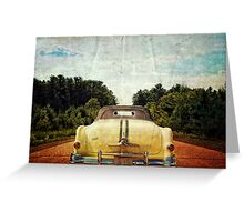 Drive to Golden Lake Greeting Card