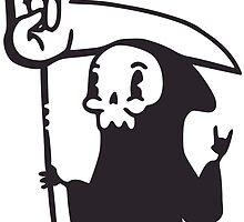 Death Metal Grim Reaper by obinsun