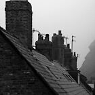 Whitby Rooftops by Becky Stead